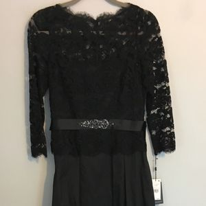 Black Ball Gown, Adrianna Pappel,  Size 6